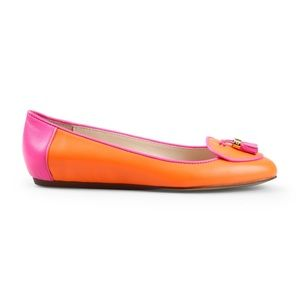 C. Wonder Leather Tasseled Flats Loafers Colorful